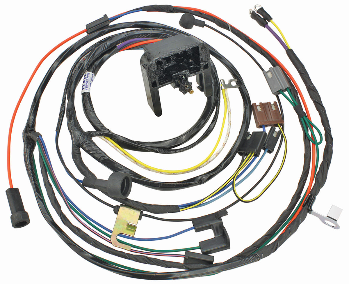 1970 Chevelle Engine Harness 396  454 W  Manual Trans   By M