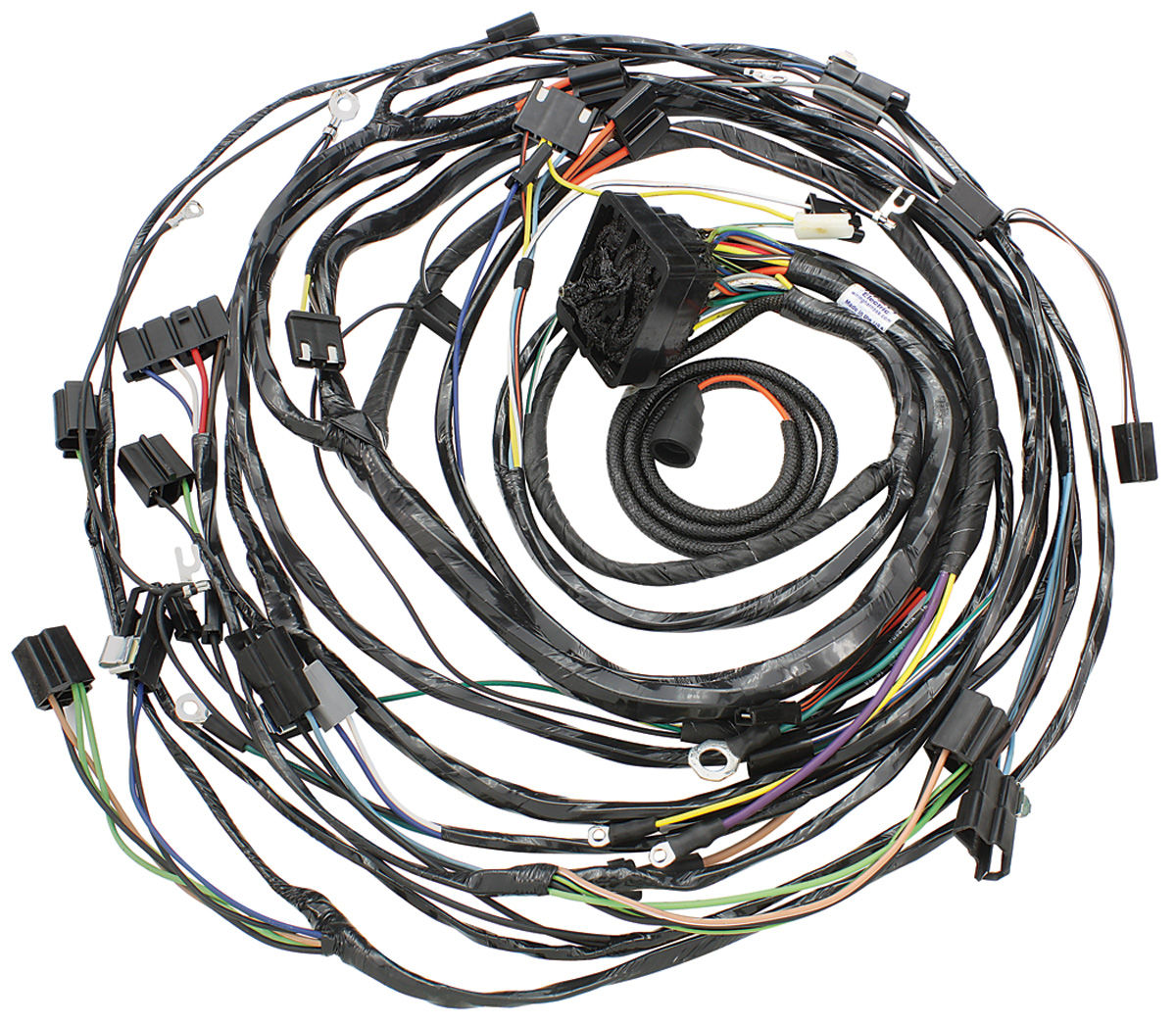 1968 Cadillac Engine Harness With Air Conditioning (Except