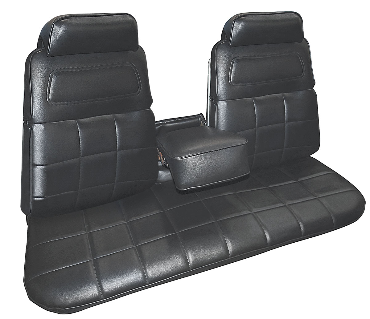 Interior Strato Bench W/center Armrest W/rear Seat Upholstery Seat. Full resolution  file, nominally Width 1200 Height 1036 pixels, file with #51517A.