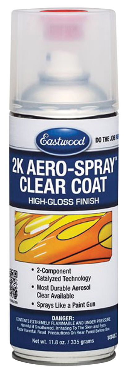 1976 bonneville 2k aerosol paint clear coat 11 8 oz by eastwood. Black Bedroom Furniture Sets. Home Design Ideas