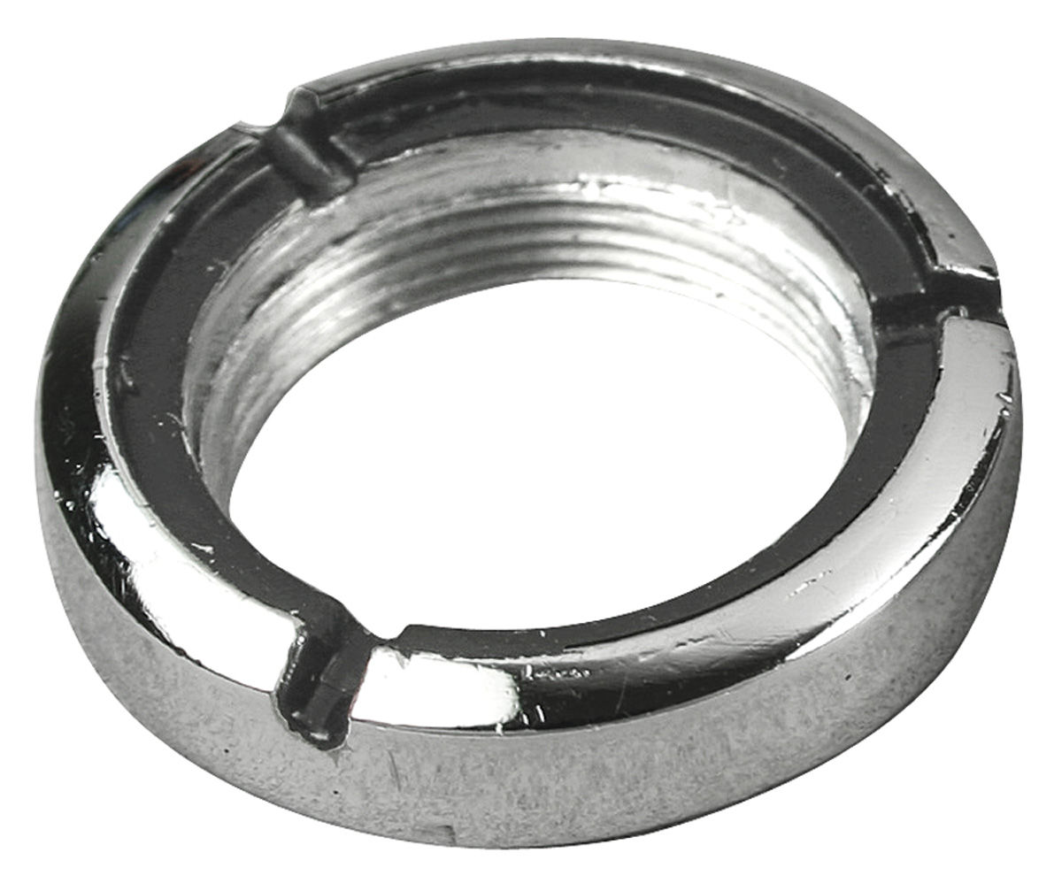 1966 67 gto ignition switch bezel ring nut chrome for years 1966 1967. Black Bedroom Furniture Sets. Home Design Ideas