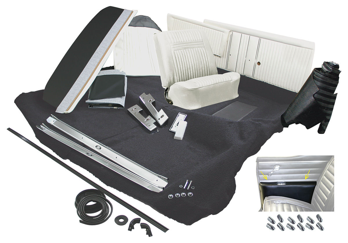 1970 interior kit cutlass convertible stage ii bench 4 4 2 holiday