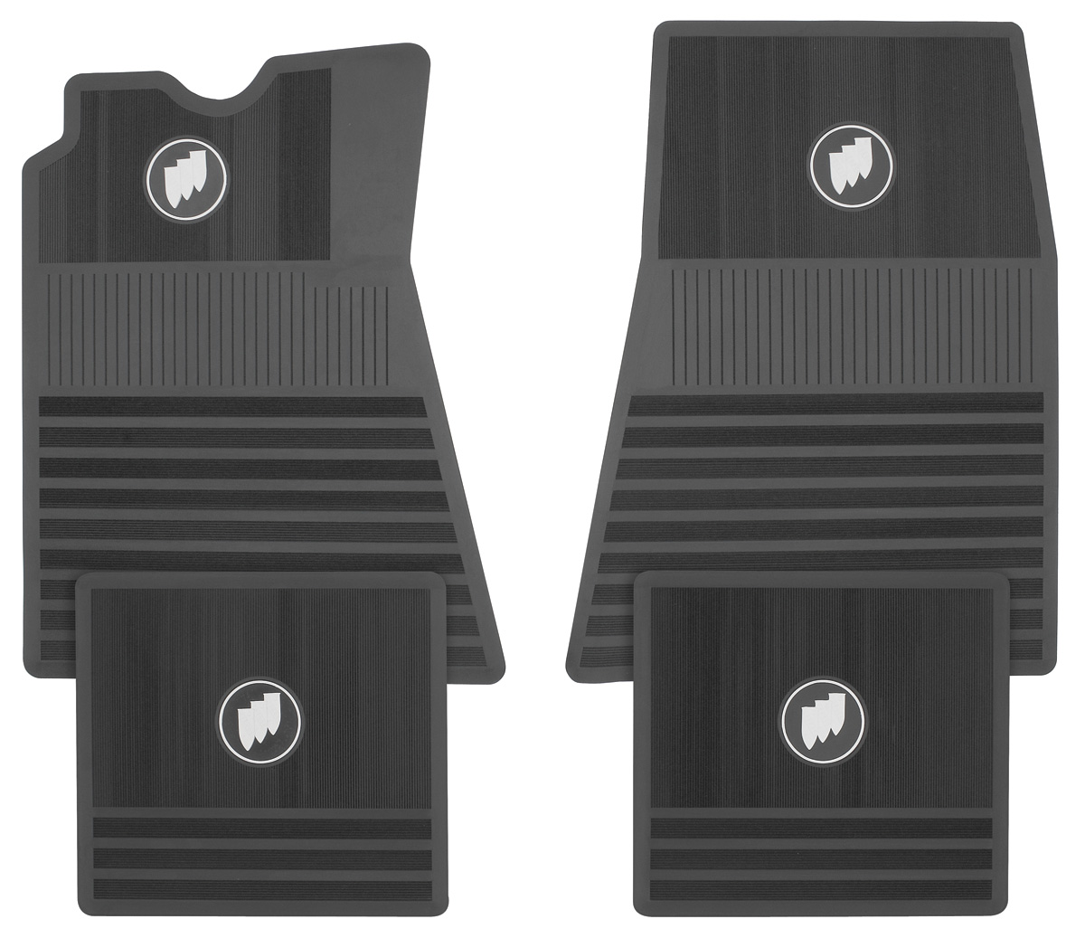 1963 76 Riviera Floor Mats Buick Tri Shield Front Amp Rear