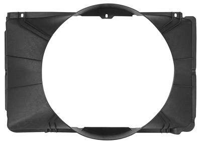1968-1968 Chevelle Fan Shroud, Big-Block Plastic-Molded