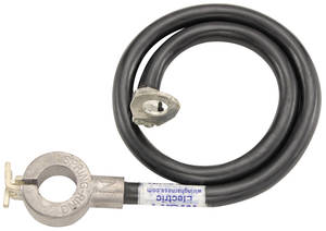 1963 Grand Prix Battery Cable, Spring Ring Negative