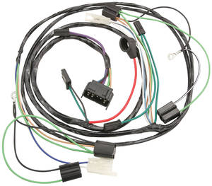 1964-1964 Cutlass Forward Lamp Harness 6-Cylinder, by M&H