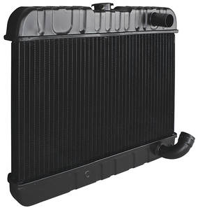"Skylark Radiator, Original Style 1961-63 V8 All (12-3/8"" X 23-1/8"" X 2"") MT, 2-Row, by U.S. Radiator"