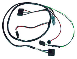 1962 Air Conditioning Harness Grand Prix, Bonneville and Catalina w/Cool Pack (Universal), w/ Heater Wiring