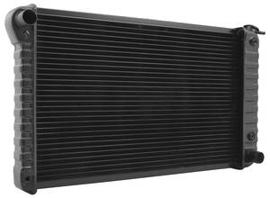 "1968-71 Skylark Radiator, Original Style 6-Cyl. 250 (17"" X 28-3/8"" X 1-1/4"") AT, Passenger Filler"