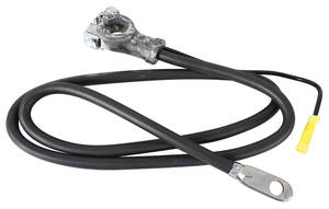 1966 Skylark Battery Cable, Spring Ring Negative V8, Gran Sport