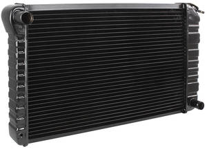 "1972 Monte Carlo Radiator, Original Style V8 307, 350 Manual Transmission, 3-Row (17"" X 28-3/8"" X 2"")"