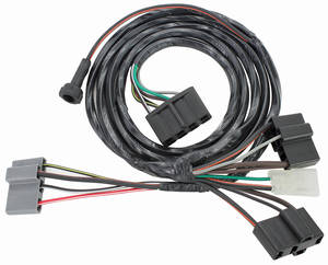 1965 Air Conditioning Harness Grand Prix, Bonneville and Catalina Standard, w/Heater Wiring