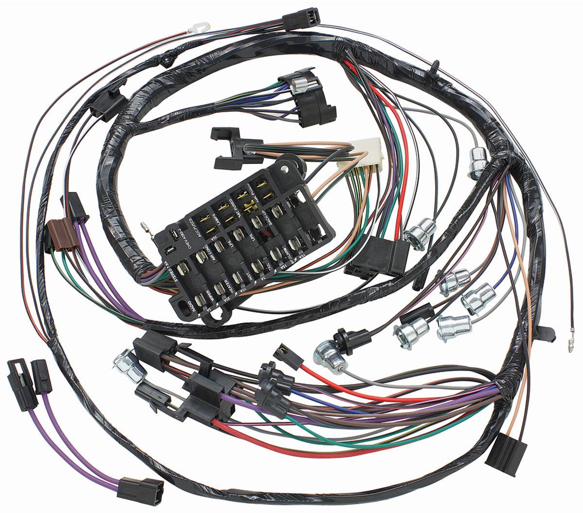 1969 chevelle dash wiring m&h 1969 chevelle dash/instrument panel harness w/warning ... 1969 chevelle engine wiring