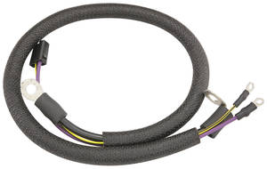 1967-1967 Cutlass Battery Cable Jumper, V8 Positive Automatic Trans. Exc. 4-4-2, by M&H