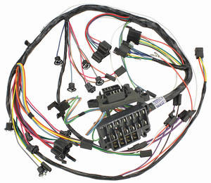 1965-1965 Chevelle Dash/Instrument Panel Harness All w/Warning Lights, by M&H