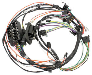 1969 Skylark Dash/Instrument Panel Harness Console Shift, AT