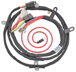 1964-1964 Chevelle Power Window Intermediate Harness Underdash, Crossover Exc. 2-dr. Wagons & El Camino, by M&H