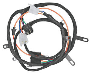 1967-1967 Chevelle Power Window Intermediate Harness Underdash, Crossover Exc. El Camino, w/Ignition Relay, by M&H