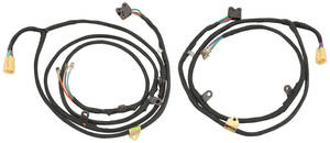 1965-66 Power Window Harness Grand Prix Quarter Window, Coupe (LH/RH)