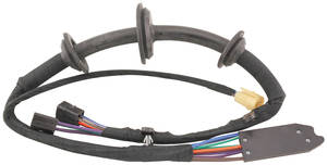 Power Window Harness Driver Side Door Exc. 1966 2-Door Wagon & 1966-67 El Camino Left