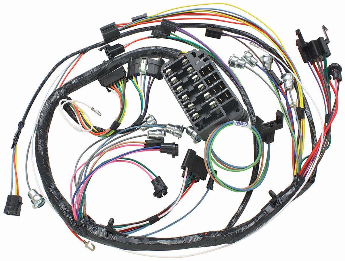 Dash Gauge Wiring Harness Trusted Diagrams 1960 Ford Ranchero Mh 1966 El Camino Instrument Panel Column Shift Auto