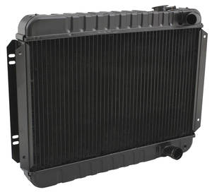"1965 Chevelle Radiator, Original Style Mt V8 283, 327, 350 (15-1/2"" X 25-1/2"" X 2""), 3-Rows"