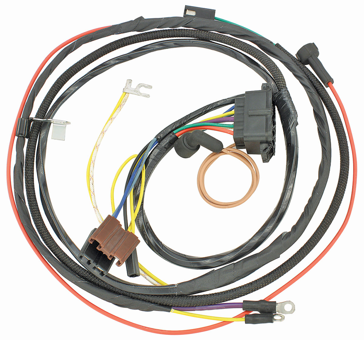 m h 1967 chevelle engine harness 396 w gauges opgi com rh opgi com 1967 chevelle engine wiring harness 1967 chevelle wiring harness diagram