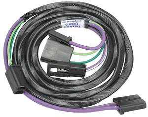 1967-1967 Chevelle Console Extension Harness Automatic Transmission, by M&H