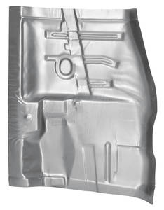 El Camino Floor Pan, 1964-67 Steel Front 1/4 Section