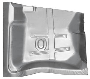 El Camino Floor Pan Quarter Sections, 1964-72 Steel Rear