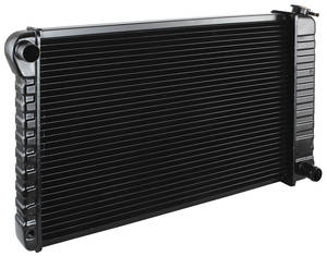 "1970-71 Monte Carlo Radiator, Original Style V8 396 Big-Block Manual Transmission, 3-Row (17"" X 28-3/8"" X 2"")"