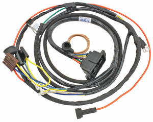 1967-1967 El Camino Engine Harness V8 w/Warning Lights, by M&H