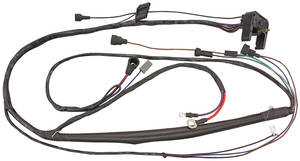1968-1968 Bonneville Engine Harness Grand Prix, Bonneville and Catalina w/original 2-Wire Voltage Regulator, by M&H