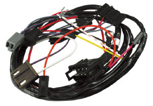 1968-1969 Cutlass Engine Harness V8 w/Carb Idle Stop Solenoid & Factory Gauges, by M&H