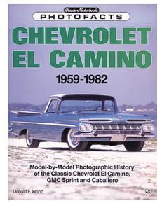 1978-1987 El Camino El Camino Photofacts 1959-1982