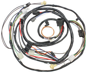 1968 Chevelle Forward Lamp Harness V8 w/Warning Lights (Ext. Reg.)