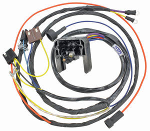 1968-1968 Chevelle Engine Harness V8 w/Warning Lights, by M&H