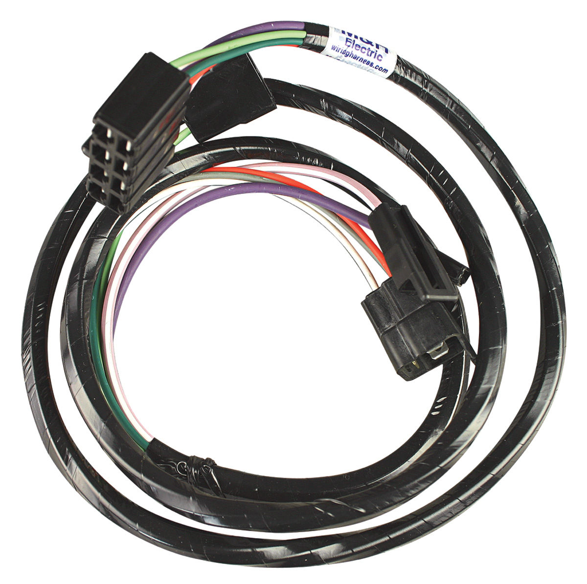 M U0026h Chevelle Console Extension Harness Automatic