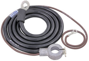 1968 El Camino Battery Cable, Spring Ring Positive V8, 396, by M&H