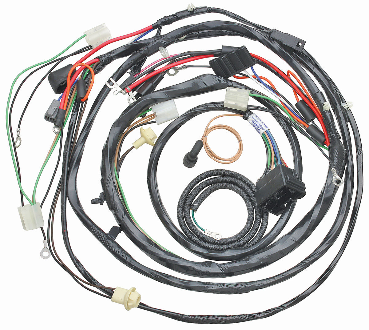 1969 Chevelle Wiring Harness Enthusiast Diagrams 1968 Complete Forward Lamp V8 W Gauges Ext Reg By M H Opgi Com Car Kits