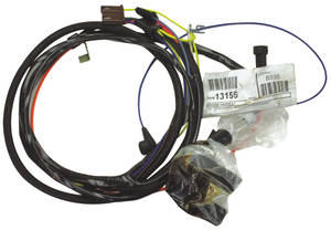 1966-1966 El Camino Engine Harness 6-Cylinder w/Gauges & C.A.C., by M&H