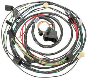 1970-1970 Cutlass Forward Lamp Harness V8 w/AC & Internal Regulator, by M&H