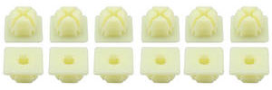 Multi-Purpose Push-In Plastic Nuts Used w/#8 or #10 Screw