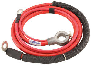 1971-1971 Cutlass Battery Cable, Spring Ring Positive V8, 350CI, by M&H