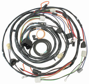 1970 El Camino Forward Lamp Harness V8 w/Gauges (Ext. Reg.)