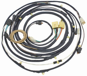 1970-1970 Chevelle Engine Harness 6-Cylinder w/Auto Trans., by M&H