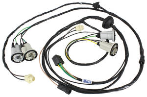 1970-1970 Chevelle Rear Light Harness Chevelle Trunk, All, by M&H