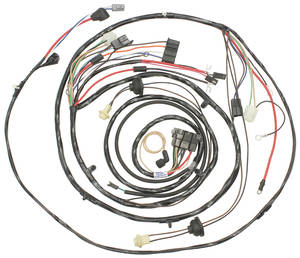 1971-1971 Monte Carlo Forward Lamp Harness (V8 with Warning Lights & Air Conditioning), by M&H