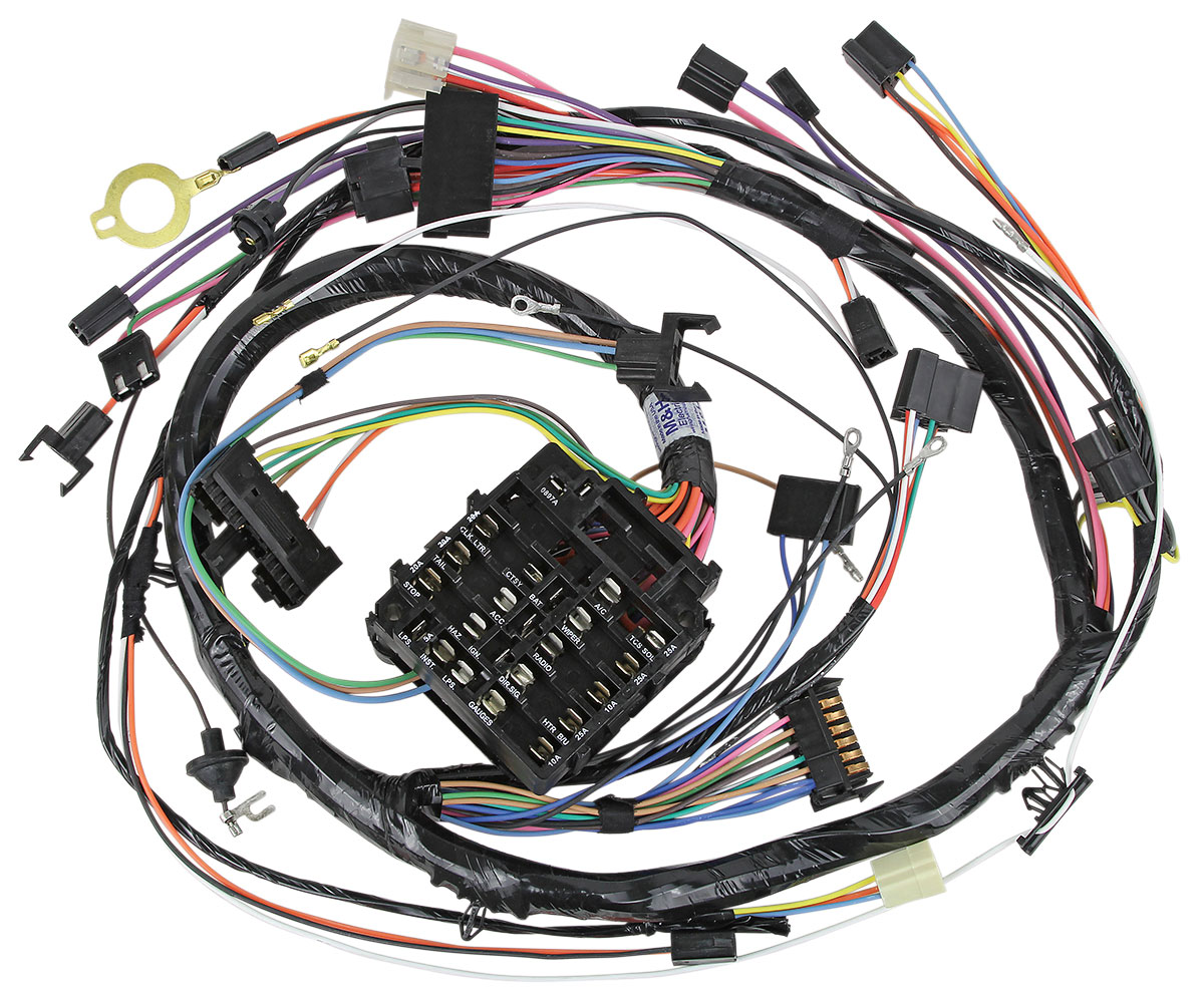 m h 1970 monte carlo dash instrument panel harness round gauge type rh opgi com 1969 Monte Carlo 1969 Monte Carlo