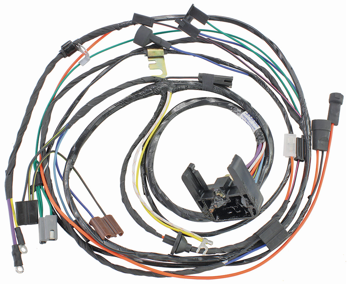 1970 Chevelle Wiring Harness Circuit Connection Diagram For Engine 454 M H 396 W Auto Trans Dash Ss